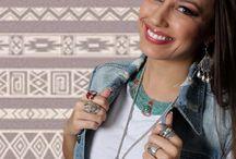 Joias estilo ÉTNICO / A moda ÉTNICO está em alta, seguindo a moda...