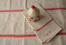 Vintage Christmas with Beyond France / Ways to use vintage linens and items this Christmas.