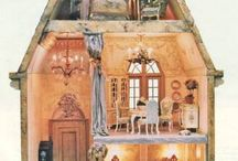 Doll House's and Miniatures / by Bobbi Ann Cook