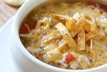 Soups for the fall/crockpot / by Katie O'Beirn