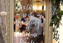 oglinda nunta