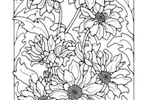 Coloring Pages / by Laura (Beadin' Fool) Garber