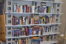 bibliothèque de briques