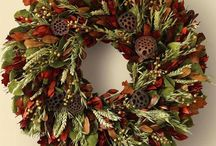 Fall Wreaths / Beautiful Fall Decor for the Front Door / by Terry Shelton