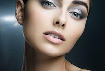 Inspirational evening makeup