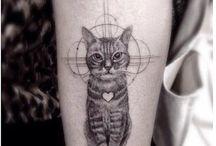 Tatuagens de gatos / Todo tipo de tattoo de gatos e felinos. http://dicasfelinas.blogspot.com.br