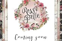 Rossibelle Collection / Beautiful Prima florals, dream catchers, and birds arrayed on a beautiful palette of femininity and contrast.