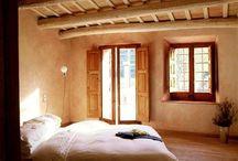 Natural building - bedroom