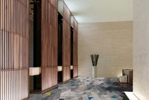 Park Place Hallway / Residential condo building common area renovation