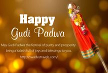 Happy Gudi Padwa!!! / May this year brings you Success and a Lot of Love and Happiness Wish you a very Happy Gudi Padwa!!!