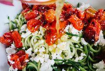 Recipes for spiraliser