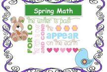 Spring Math / Fun Mathematics Activities for Spring!