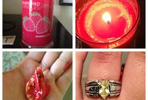 candles with hidden surprise