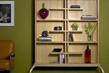 Shelves, wardrobes, storage