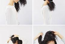Kıvırcık saç model