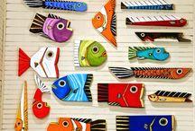 tablero peces