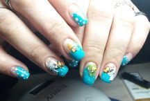 весение дизайны ногтей