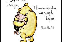Winnie the poo and piglet