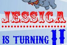 Dumbo/Disney themed birthday