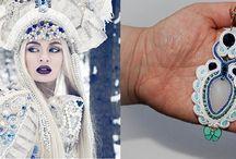"""Moje prace """"Made by Blue"""" / Biżuteria wykonywana przeze mnie głównie techniką soutache ale również innymi technikami"""