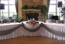 Main table for weddings ,parties etc