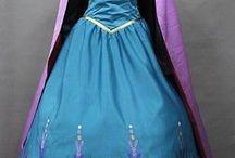Rollkunstlaufkleider: Rapunzel + Frozen