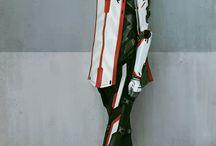 Inspiration sci-fi clothes