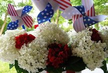 Three Cheers for the Red, White, & Blue / by Patti Brockhoff Hobin