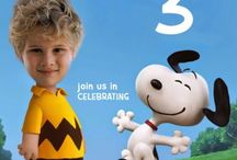 Peanuts Movie Invitation / Charlie brow, Lucy Van Pelt....INVITATIONS