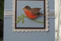 Bird Builder Stampin' Up! Punch Greeting Cards