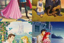 W. Disney - Princesses - 1937