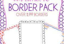 Templates, borders, etc. / by Belinda Langford