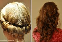 hairstyles / by Christine Fitzpatrick