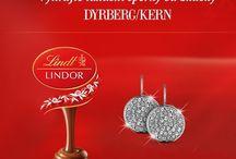Vánoce s Lindor  / Najděte si v předvánočním čase také chvilku pro sebe... Zúčastněte se soutěže o krásné šperky Dyrberg/Kern a nechte se mile překvapit!