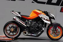 KTM motorcycles / Two wheeled wonders by KTM