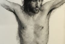 drawing - charcoal and graphite / Figure and Nude  Drawing