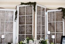Signage / Inspiration for wedding & event signage. Escort card, place card, reception signs & decor. Fleurs de France - Sonoma Napa Wedding florist, Destination weddings. www.fleursfrance.com