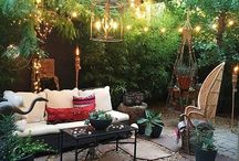 Let's Go Outside, Garden Design, Beautiful Outdoor Space, Garden Gifts, Boho Outdoor Living, / Let's go outside, creating a beautiful place, natural, welcoming and relaxing, just perfect. #garden #gardengifts #bohogarden #easyliving #outdoorspaces #nature #naturegifts #twiggypeasticks #naturelover #hygge #relaxation #family #gardening #growyourown #flowers