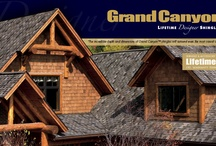 Grand Canyon / Ultra-Premium Designer Shingles - The ultimate choice for a rugged wood-shake look.