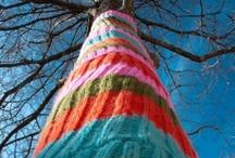 Street Art: Knitting art
