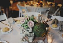 Centers & Pieces / center pieces and flowers / by Allison S