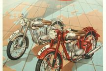 Vintage Motorbikes / All type of vintage motorbikes