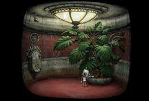 SURREAL ART / painting surrealism art illustration canvas acrylic Oil paper art