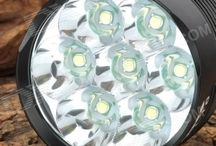 Fietslamp Led 9800 Lumen 7 CreeT6 / Fietslamp Led 9800 Lumen 7 CreeT6