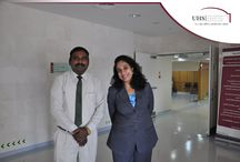 UHS's Compassionate caregivers with a passion for excellence / At University Hospital Sharjah, we believe that our caregivers are the most important aspect of our service. They are the face of our hospital. That is why we focus so much energy on making sure they are the best they can be.