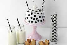 Monochrome Birthday Party
