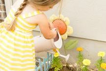 Gardening with kids / Gardening is more popular than ever. Teach your children the joys of working in a garden, whether it's flowers or vegetables. / by ConnectHer Women & Infants Hospital
