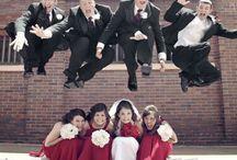 Fotos dos noivos com padrinhos