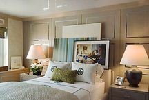 Small Space / Tricks For Making Your Ceiling Look Higher +  Ways to Make Your Living Space Appear Larger + Tricks Interior Designers Use For Small Spaces + Chic Small Homes