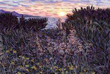 My Landscape Paintings / Landscape Paintings by Derek Alvarez